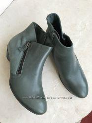 новые натуральные ботинки Ecco, оригинал, кожа