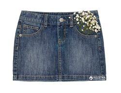 Джинсовая юбка Benetton для девочки на 10-11 лет