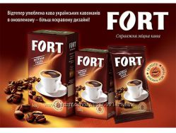Кофе FORT 250г. Кава FORT