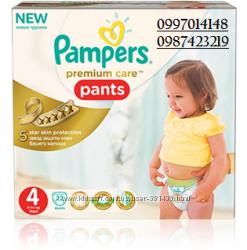 трусики Pampers premium  care pants