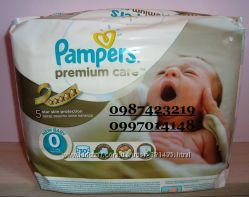 Pampers premium care все размеры