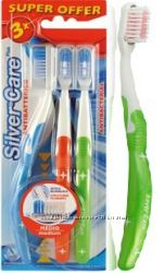Зубные щетки для детей и взрослых SilverCare Италия