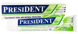 Зубная паста PresiDENT EcoBio Италия - на 100 процентов натуральный продукт