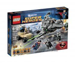 Конструктор Лего 76003 LEGO Superheroes Битва Супермена за Смоолвить