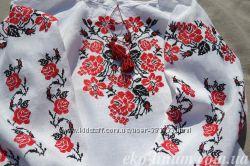 Шикарные льняные женские вышиванки
