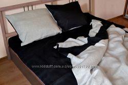 Льняное постельное белье День-Ночь
