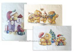 Акция Набор новогодних полотенец Тэди