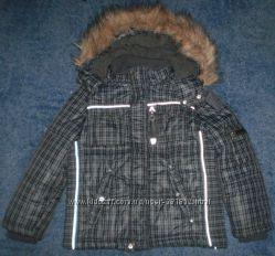Зимняя куртка Chicco на мальчика 122см