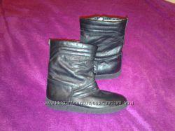 Ботинки, полусапожки кожаные, в идеальном состоянии