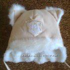 Зимняя шапка Котик