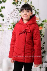 Детская куртка демисезонная для девочек 122-146 рост