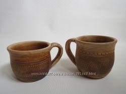 Чашки чайные глиняные