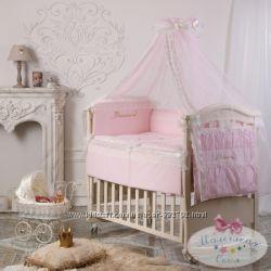 Детское постельное белье в кроватку Принцесса и Принц Swarovski