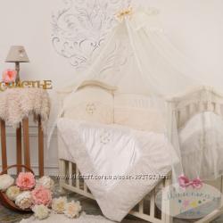 Комплект постельного белья в кроватку Версаль  МАЛЕНЬКАЯ СОНЯ