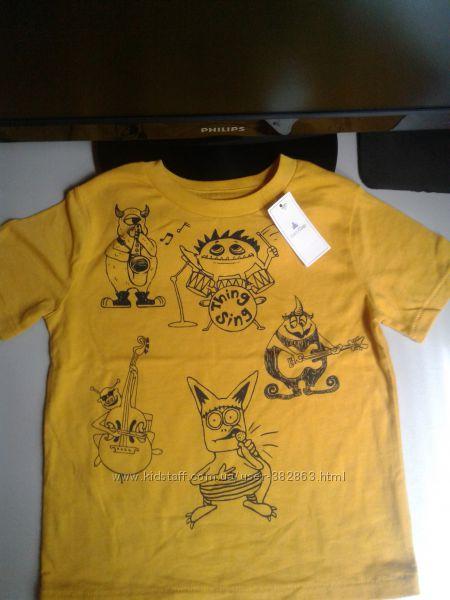 Фирменная футболочка GAP  2-3 года