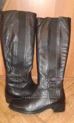 Демисезонные кожаные сапоги DUNE Индия р-р 38-39 стелька 25 см