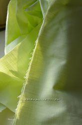 Лен салатового цвета, ткань натуральная, ширина 140см