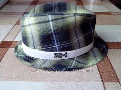 Шляпа New Era состояние отличное 58 размер клетка