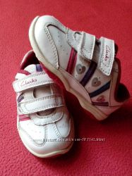 Сlarks кроссовки 4 G кожа 13 см с подсветкой