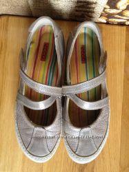 Ecco обувь удобная 37 размер 24 см кожа состояние отличное