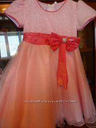 Платье для праздника на 4-5 лет