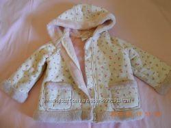 Курточка для девочки под дубленку 12-18 мес