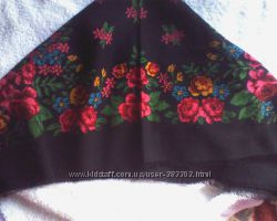 платок тонкая шерсть 85-85 см