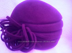 фетровая шапка, 56-57 размер
