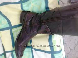 сапоги женские, кожаные 38