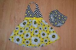 Комплект сарафан-платье с трусиками Bonnie Baby, 18 мес