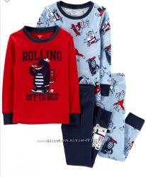 Пижама CARTERS Картерс набор для мальчика 4 года