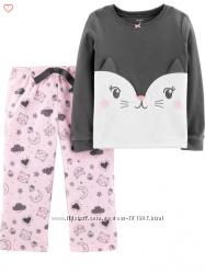 Флисовая пижама CARTERS для девочки 5 лет