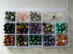 Бусины из натуральных камней для рукоделия