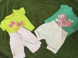 Одежда для девочки до 80 см лето