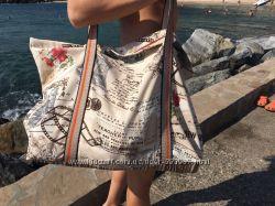 Дорожная, пляжная большая сумка