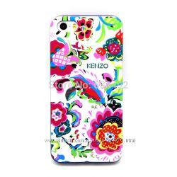Красивые силиконовые чехлы Кеnzo Кензо для телефона Iphone 4 4S 5 5s 6 6