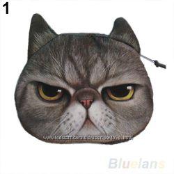 Прикольные кошельки-котейки Grumpy Cat