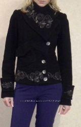 Короткое кашемировое пальто