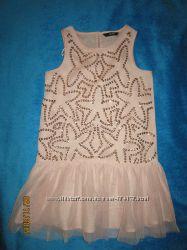 Красивые туники и платья на девочку 6-7 лет