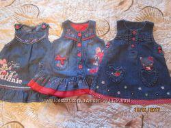 Платья сарафаны от рождения до года