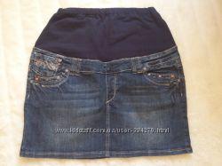 Юбка джинс для беременной