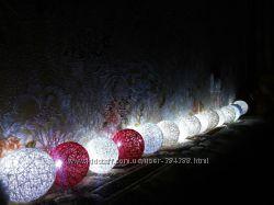 Тайские фонарики, новогодние гирлянды