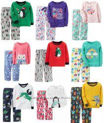 Пижамы Carters на мальчиков и девочек , есть наборы 2 шт.