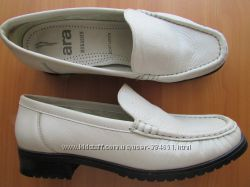 туфельки-лоуферы ARA мягкая кожа стелька 24, 5