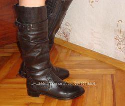 Кожаные сапожки Janet стелька 24, 5