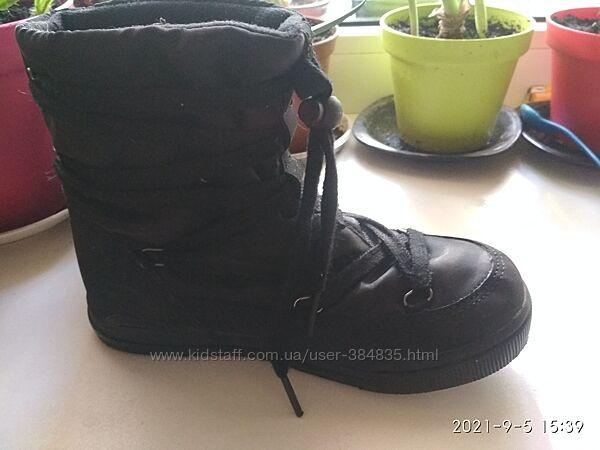 Ботинки холодная осень в идеале. Унисекс