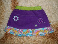 Фирменная вельветовая юбочка 92-98 см