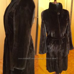 Норковая шуба Nafa 105 см , стойка хс- с размер оригинал