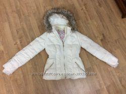 Продам куртку натуральный пух, размер S
