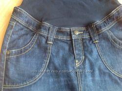 Продам джинсовую юбку H&M для будущей мамочки